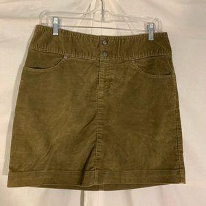 Athleta corduroy skirt. Size 8